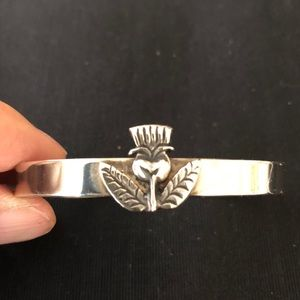 Jewelry - Thistle stainless steel cuff from Argentina SALE